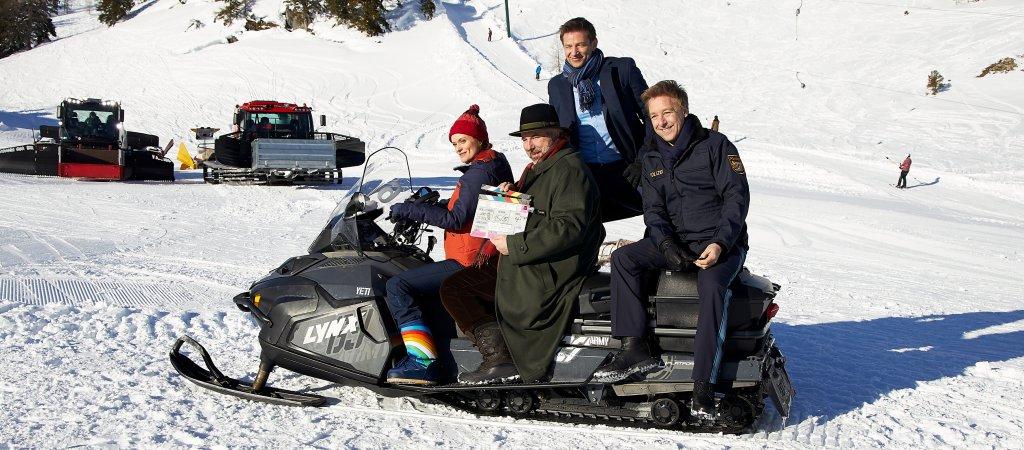 """In Spielfilmlänge ZDF dreht Winterspecial der """"Rosenheim Cops""""   Bavaria Fiction GmbH"""
